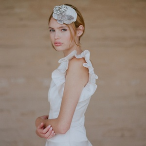 photo of Romantic Retro Wedding Dresses, Vintage Bridal Accessories