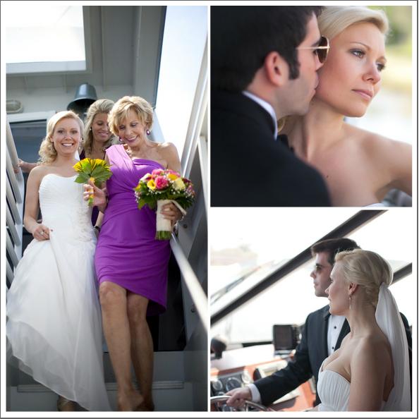 White_wedding_dress_purple_bridesmaids_dresses.full