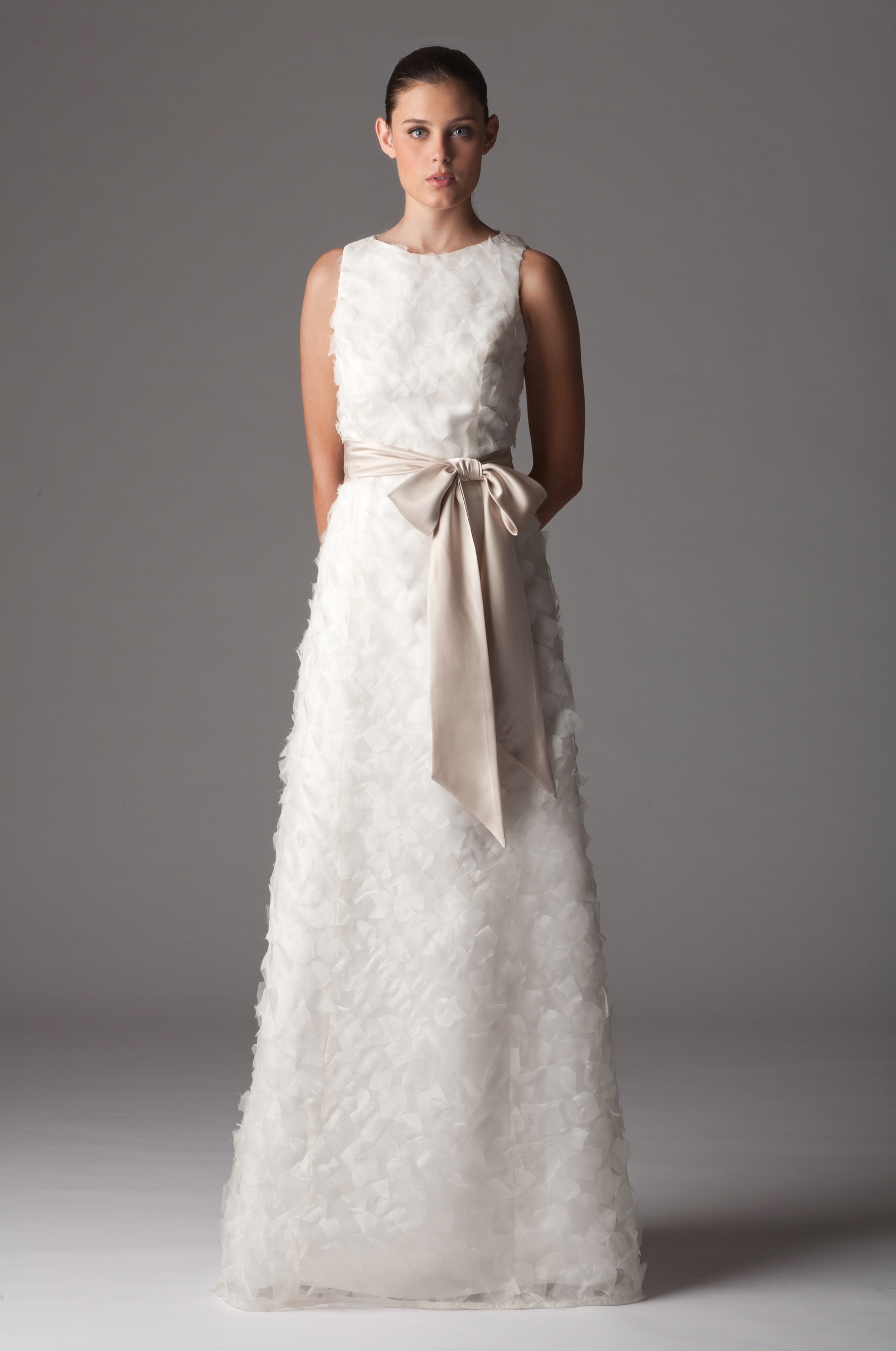 Wedding Dresses With High Neck : Modest high neck wedding dress onewed