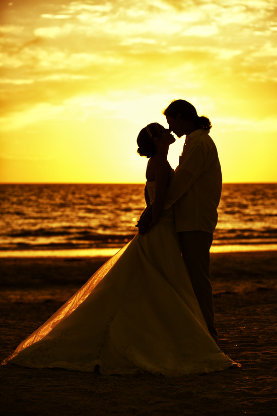 Romantic Sunset Photoshoot