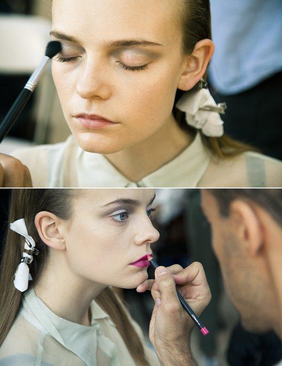 photo of Bridal Beauty Inspiration- Dramatic Fashion Week Faces