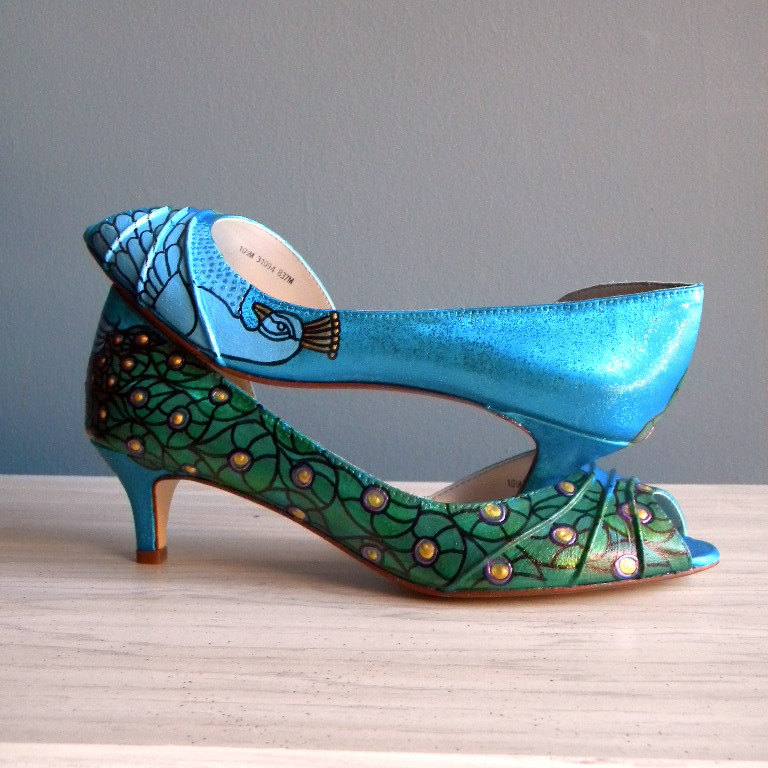 Teal Wedding Shoes 027 - Teal Wedding Shoes