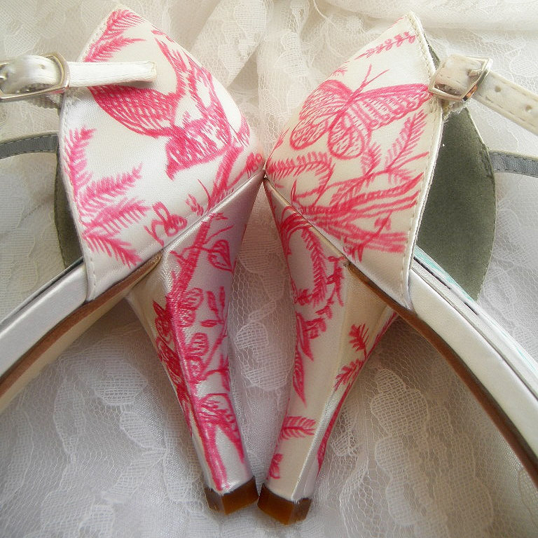 Handpainted-wedding-shoes-pink-ivory-bridal-heels.full