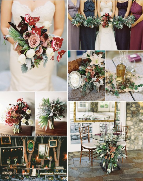 photo of 9 Gorgeous Wedding Color Palettes for Autumn