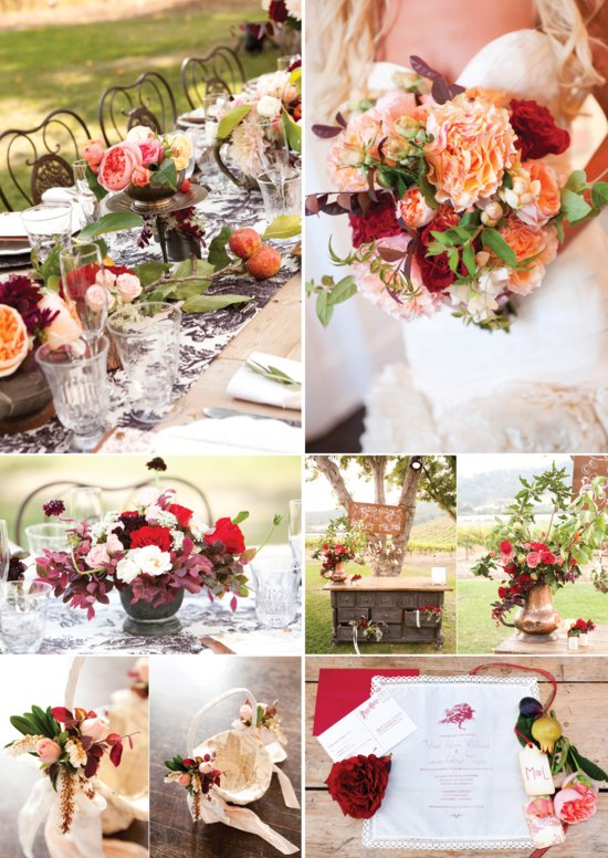 10 wedding color palettes perfect for fall 2b