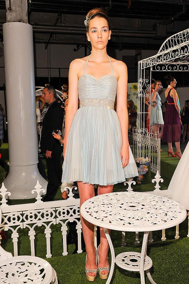 elegant light blue wedding reception dress. Black Bedroom Furniture Sets. Home Design Ideas