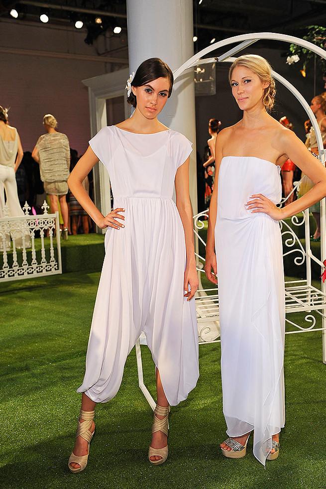 Casual White Beach Wedding Dresses