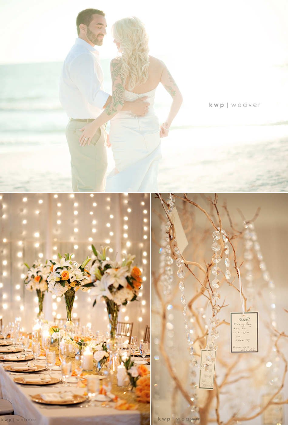 Beach wedding decor romantic decoration for Wedding decoration images