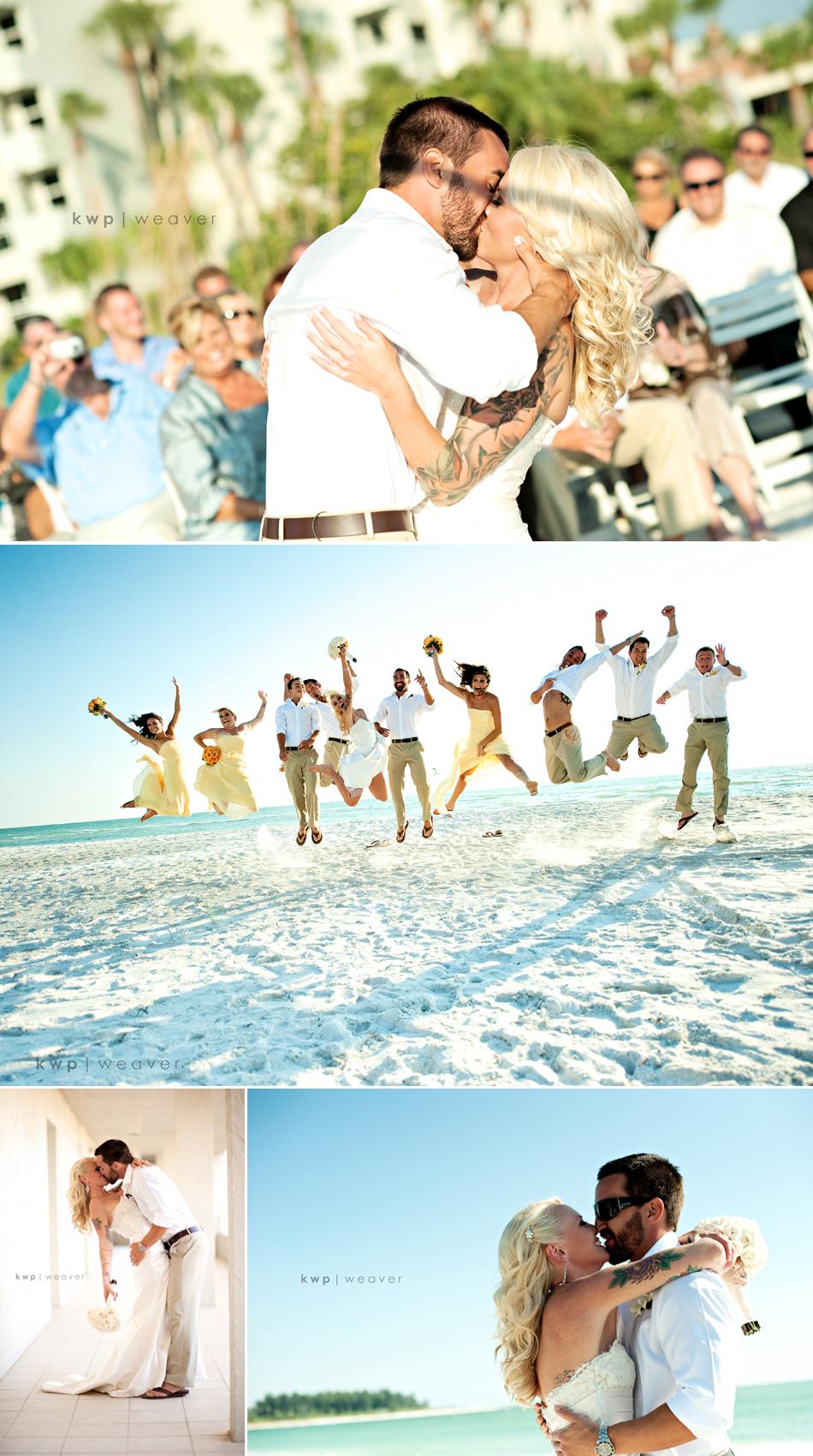 Fall wedding on beach mermaid wedding dress retro wedding hairstyle