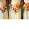 Kw-fall-wedding-beach-wedding-style-orange-bridal-bouquet-yellow-bridesmaids-dresses.square