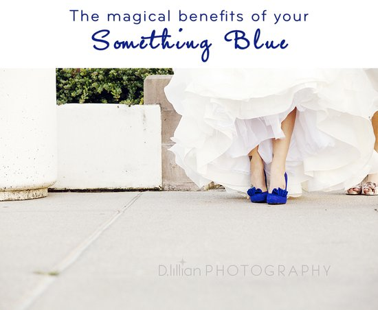 photo of Reduce Wedding Day Stress with... your something blue?