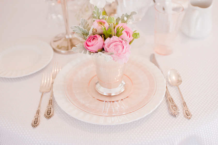Pink And White Wedding Flowers Arranged In Stunning DIY