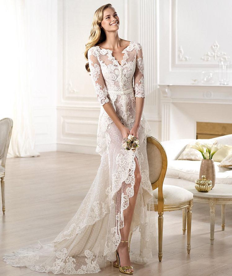 Yaela Wedding Dress For  : Yaela wedding dress from pronovias atelier bridal onewed