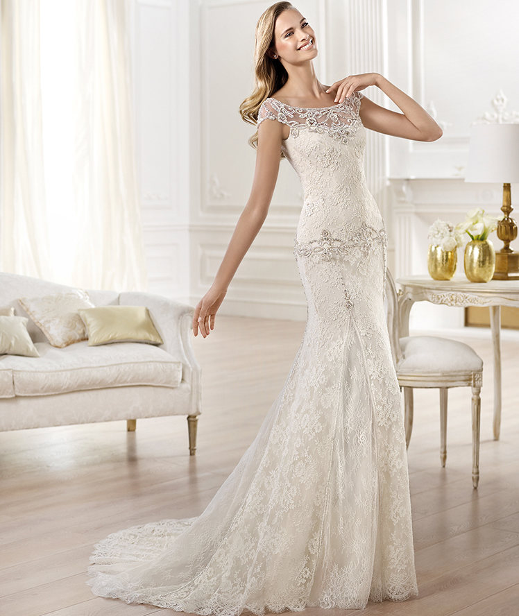 Wedding Gowns 2014 Pinterest: YALENA Wedding Dress By Atelier Pronovias 2014 Bridal