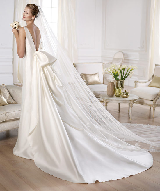 YERMEIS wedding dress by Atelier Pronovias 2014 bridal