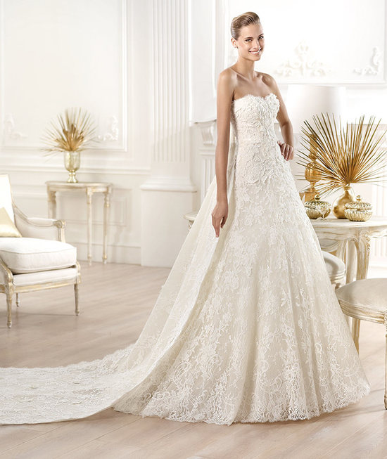 YESSEN wedding dress by Atelier Pronovias 2014 bridal