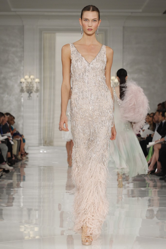 ralph lauren beaded wedding dress column