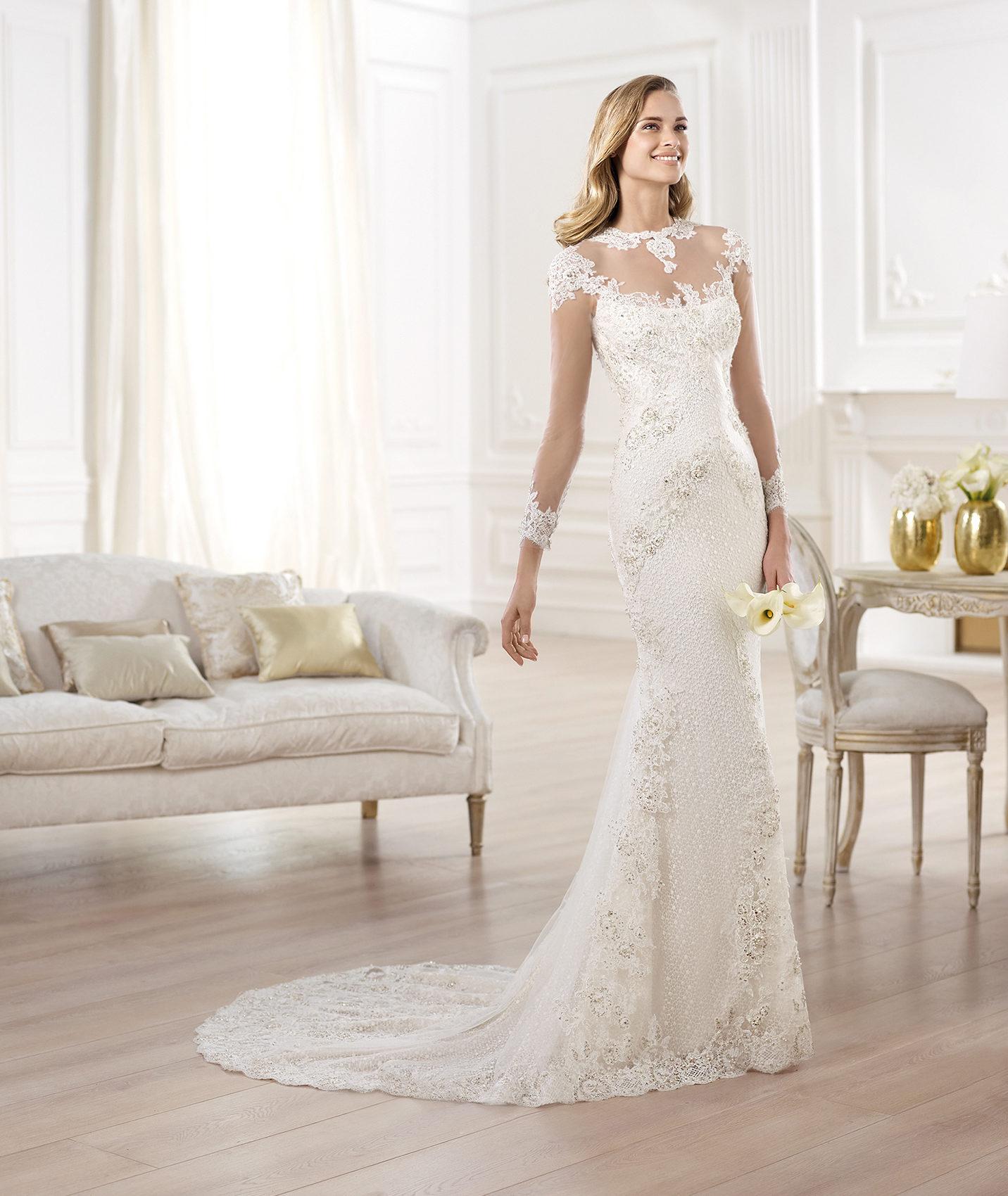 Wedding Gowns 2014: YANIDA Wedding Dress By Atelier Pronovias 2014 Bridal 2