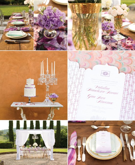 Jewel Tones Wedding Color Palette For Fall