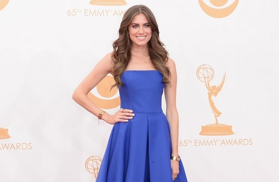 2013 Emmys wedding hair and makeup inspiration Allison Williams
