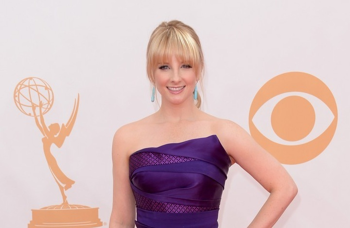 Wwedding hair and makeup inspiration Melissa Rauch