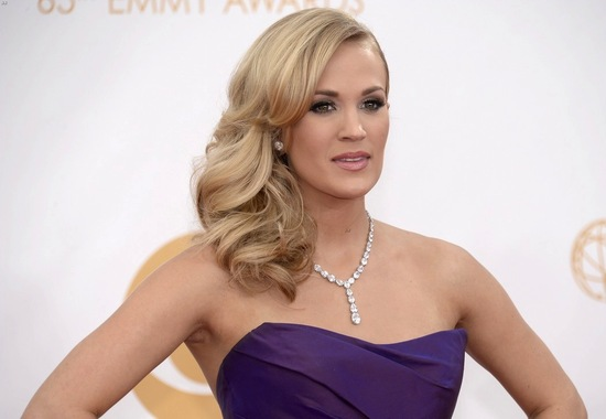 Wedding hair and makeup inspiration Carrie Underwood