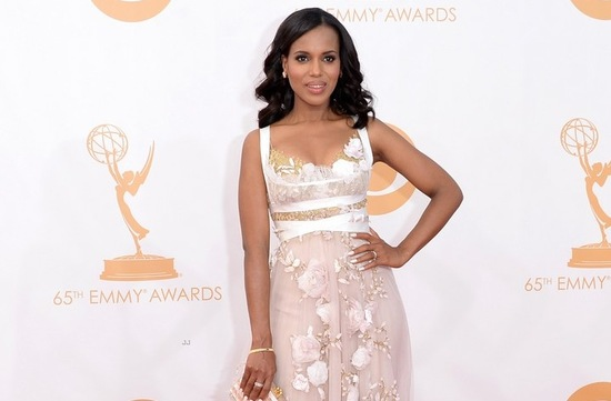 2013 Emmys wedding hair and makeup inspiration Kerry Washington