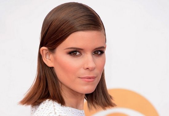 2013 Emmys wedding hair and makeup inspiration Kate Mara