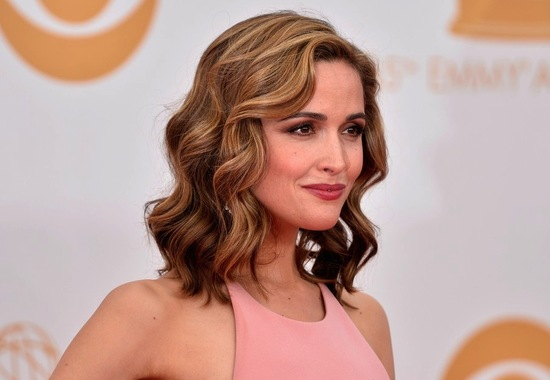 Wedding hair and makeup inspiration Rose Byrne