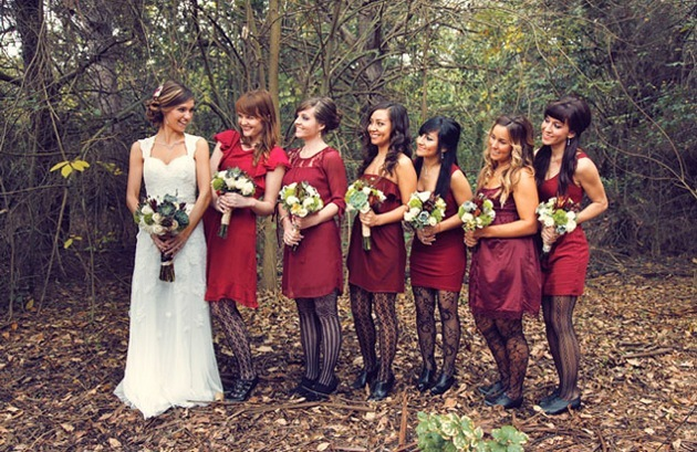 Wedding-trends-mismatched-bridesmaids-dresses.full