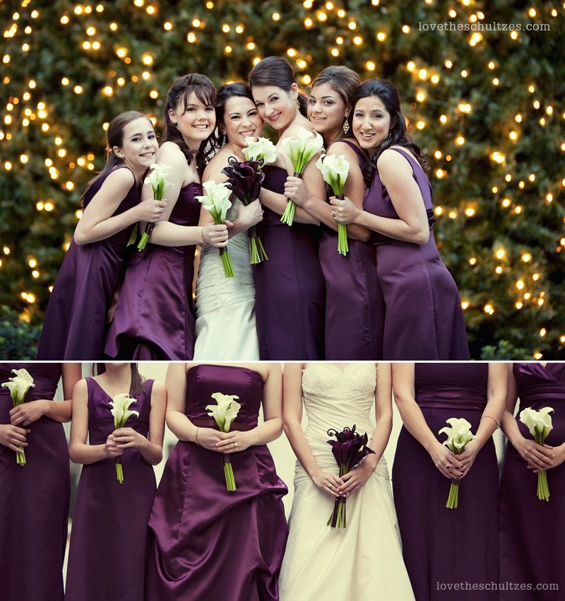 1000+ Images About Christmas Bridesmaid Dresses On Pinterest