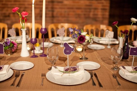 Wedding flower inspiration from Amy Osaba - Fall Tablescapes