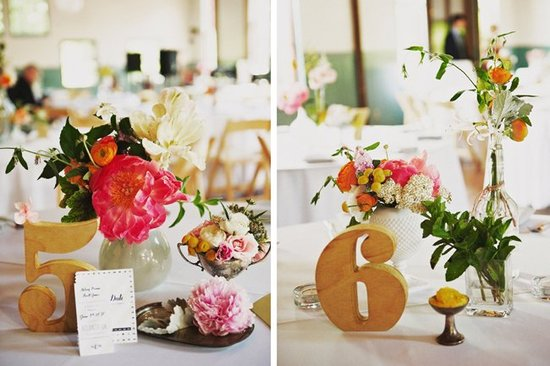 Wedding flower inspiration from Amy Osaba - Bright, Beautiful Peonies