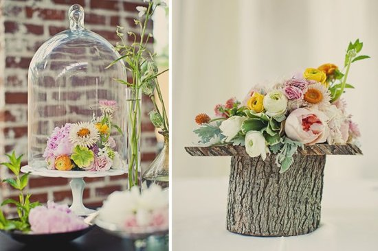 Wedding flower inspiration from Amy Osaba - Whimsical Fall Pastels
