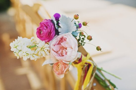 Wedding flower inspiration from Amy Osaba - Romantic Arrangements