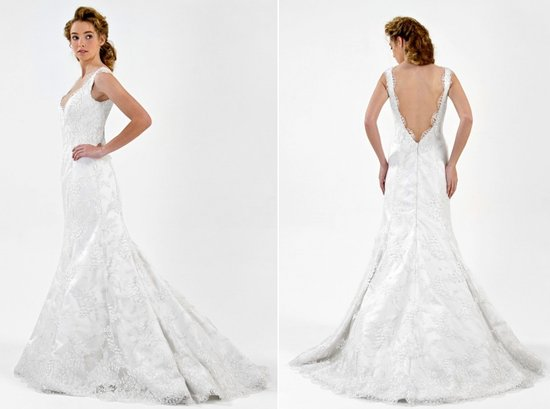 Kate Middleton-inspired mermaid wedding dress