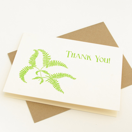 Classic Wedding Thank You Card