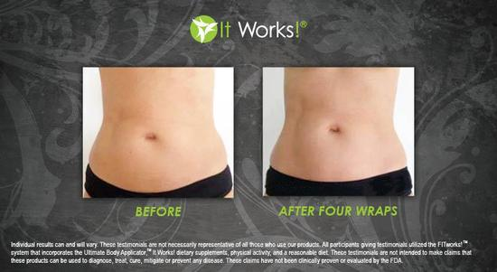 Tummy 11 - After 4 Wraps