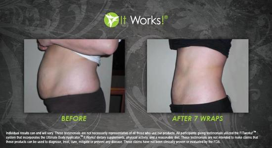 Tummy 12 - After 7 Wraps