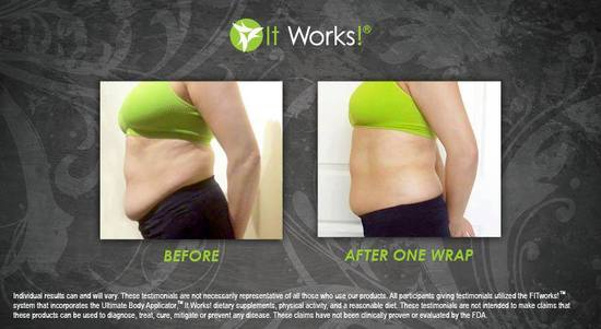 Tummy 24 - After 1 Wrap