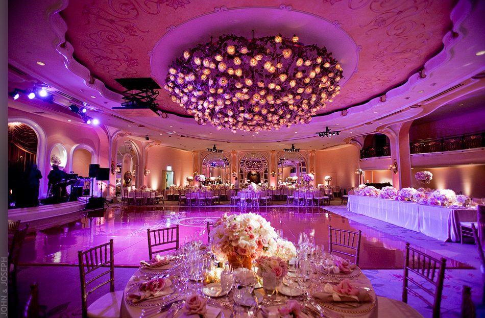 California Wedding Elegant Wedding Venue on pink beauty salon interior design