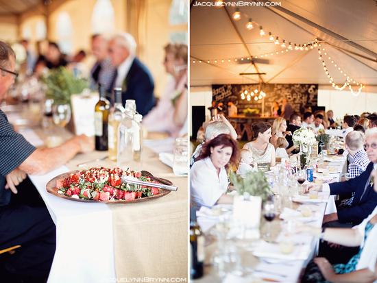 Family style wedding caterers