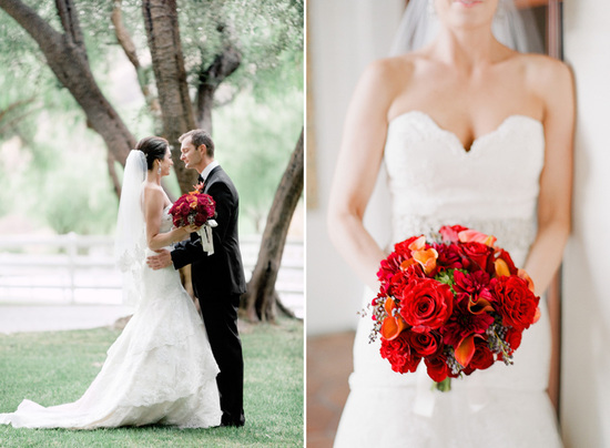 photo of Elegant Ranch Wedding in the California Valley