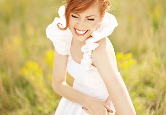 photo of Bridal beauty portraits ginger 2