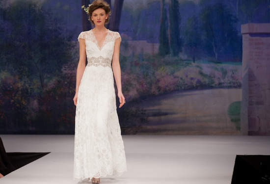 Claire Pettibone wedding dress, Fall 2012- romantic lace