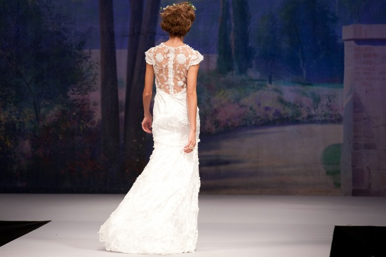 Claire Pettibone wedding dress, Fall 2012- embellished back