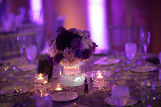 Purple Wedding Decorations