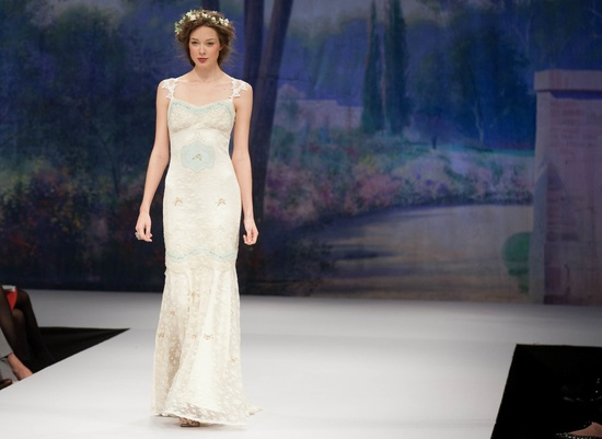 Claire Pettibone wedding dress, Fall 2012- 2