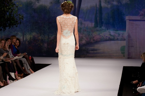 Claire Pettibone wedding dress, Fall 2012