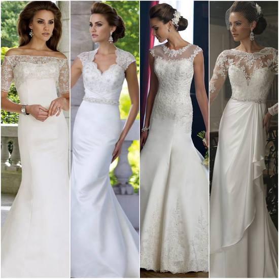 Classic Laced Wedding Dresses